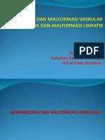 Hemangioma Dan Malformasi Vaskular