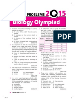 Biology Olympiad Practice questions