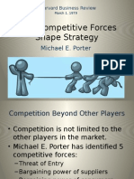 How Competitive Forces Shape Strategy