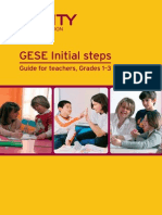 GESE Initial Steps - Guide for Teachers