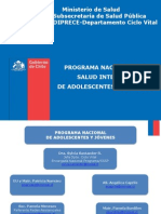 Programa Nacional de Adolescentes