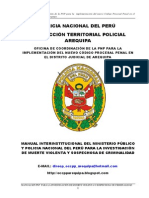 Criminalistica - Manual Mp Pnp Muerte Violenta o Sospechosa de Criminalidad