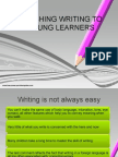 Teaching Writing to Young Learners