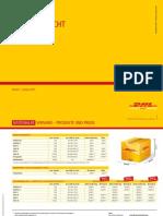 Dhl Paket Preisuebersicht 012015