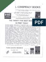 Tom Davis Books catalogue