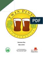 Twin Pints Business Plan
