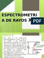 Espectrometria de Rayos X