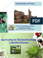 Agricultural Biotechnology- Biofertilizers