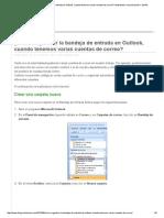 ¿Cómo organizar la bandeja de entrada en Outlook, cuando tenemos varias cuentas de correo_ _ Matrallune_ comunicación + diseño