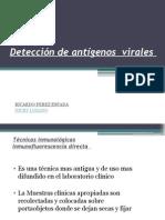 Deteccion de Antigenos Virales