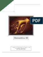 Matemáticas III - Practica - Prof Andrés Pérez