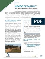 ouverture du contournement routier de Sartilly - 26 octobre 2015