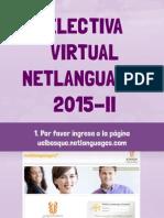 Electiva inglés virtual tutorial n