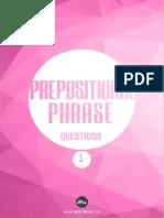 Prepositional Phrase Soruları