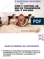 Estrategia Sanitaria Nacional de Prevencion de Las ITSs y VIH SIDA
