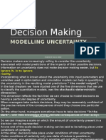 Modelling Uncertainty