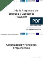 Empresa y La Gestion de Proyectos