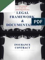 Legal Framework & Documentation (Health Insurance)