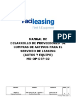 MD-OP-DeP-02 Manual de Desarrollo de Proveedores Leasing v. 02
