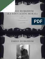 La Educacion Moral
