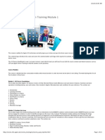 IOS Device Qualification Training Module 1