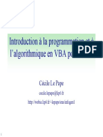 cours VBA