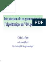 cours VBA