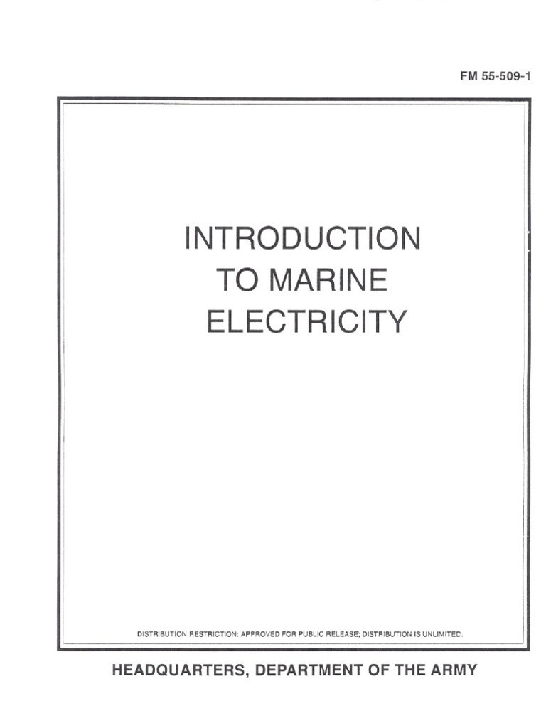 Fm55 509 1 Introduction To Marine Electricity Atoms Electric Charge Buzzer Symbol Circuit Diagram Furthermore Electromag Ic Crane