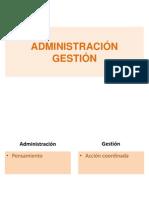 2 Gestión Magister 2014 Prof. Claudio