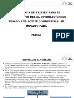 Pristec PEMEX Presentation -Spanish - March 2104_Final