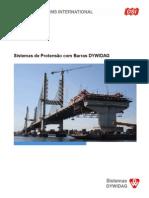 DSI Protendidos DYWIDAG Sistemas de Protensao Com Barras DYWIDAG