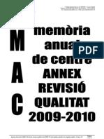 MAC Annex Revisió Qualitat