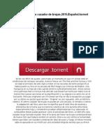 ~ [漢]~ El último cazador de brujas.2015.Español.torrent
