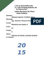 Informe de visita de Curto Puente Piura