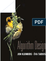 Algorithm Design Tardos