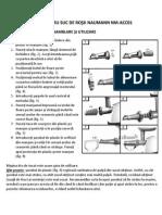 Manual Accesoriu Rosii RO