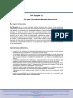 Gulf Syngear LL (Sintético) SAE 50, API MT-1