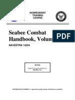 Seebee Combat Handbook Vol 1 navedtra 14234