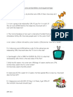 percentages word problems