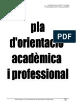 Pla d'Orientació Acadèmica i Professional