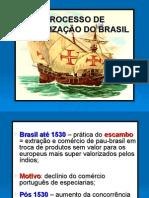 Processo de Colonização Do Brasil