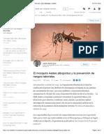 El mosquito Aedes albopictus y la prevención de riesgos laborales. | Jesús Belenguer | LinkedIn