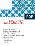 Lecture 4 Task Analysis