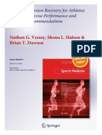 Water Immersion Recovery for Athletes - Effect on Exercise Performance and Practical Recommendations (2)
