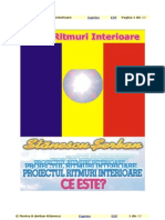 Serban Stanescu - Ce este Proiectul Ritmuri Interioare