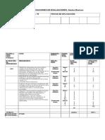 Tabla Especificaciones. Unidad III Oa7 Doc