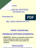 Exposición de Prueba de Hipótesis Estadística