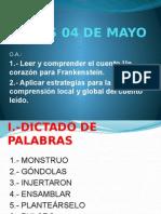 Clase de Lenguaje 4 Mayo