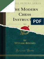 Steinitz - The Modern Chess Instructor