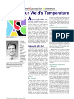 Taking Your Weld's Temperature